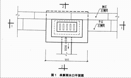 第一题 某市区排水工程,共有430×210雨水口100只,采用铸铁雨水井箅图片