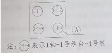 承台钻孔编号图
